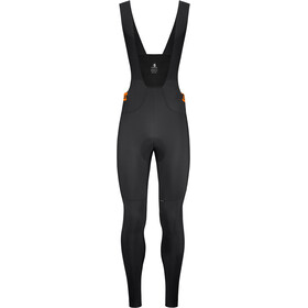 Etxeondo Orhi Cuissards longs à bretelles Homme, black/orange